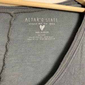 Altar'd State Tops - Altard State Tunic Texas Deep neck tunic